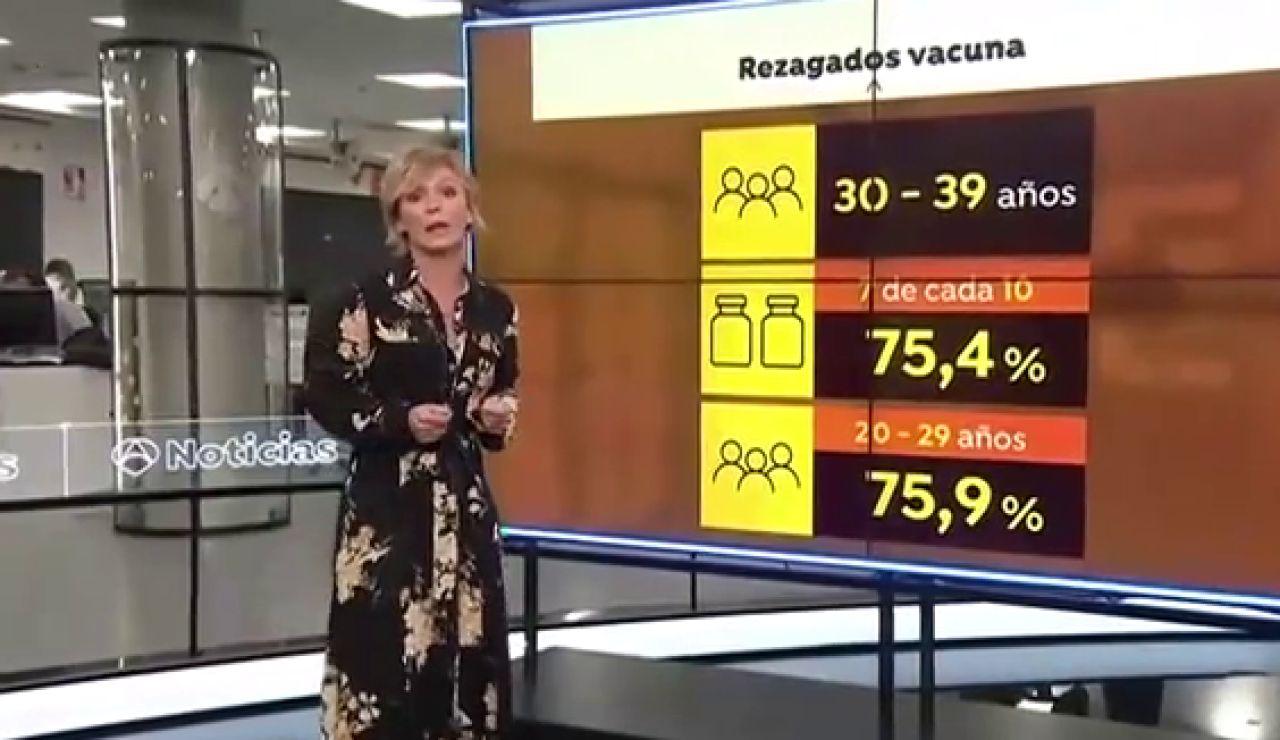 Así son las campañas para vacunar a los rezagados contra el coronavirus y alcanzar el 90% con la pauta completa