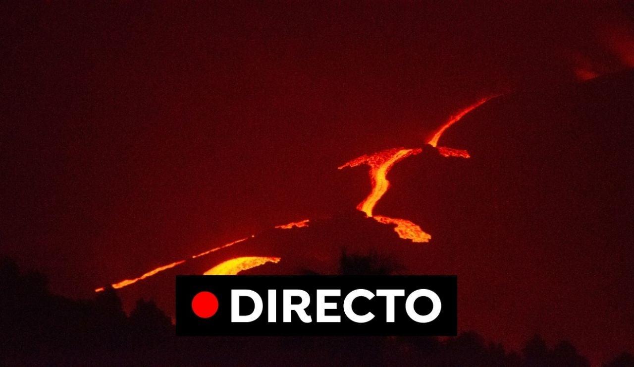 Última hora de la erupción en Cumbre Vieja, imágenes y el recorrido de la lava hoy, en directo