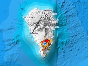 La Palma registra más de 40 terremotos, uno de ellos con magnitud de 4,3