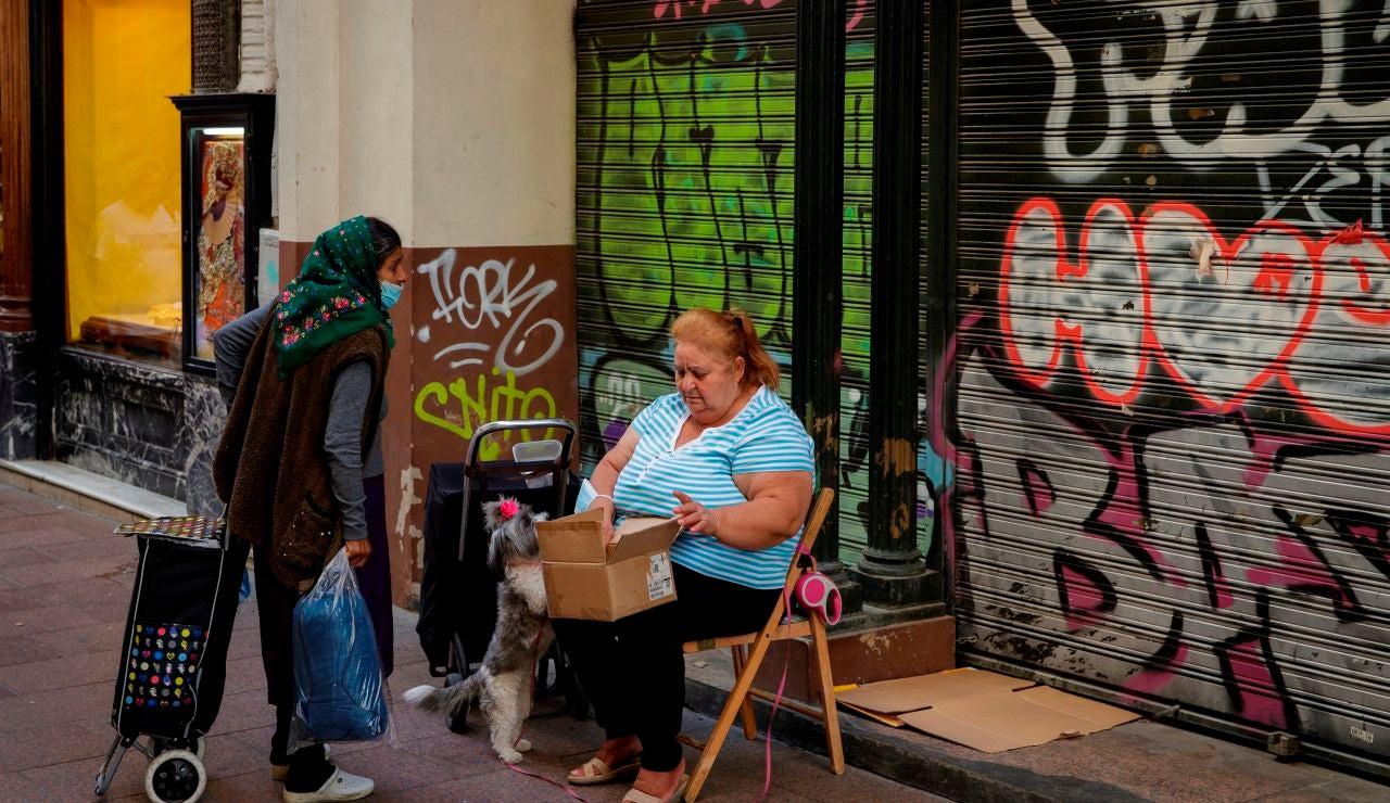 El 35% de la población de Andalucía, en riesgo de pobreza extrema y exclusión social