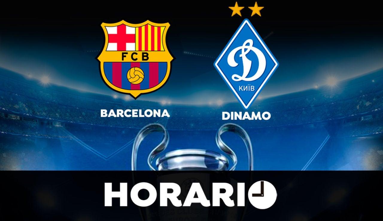 Barcelona - Dinamo: Horario y dónde ver el partido de la Champions League en directo