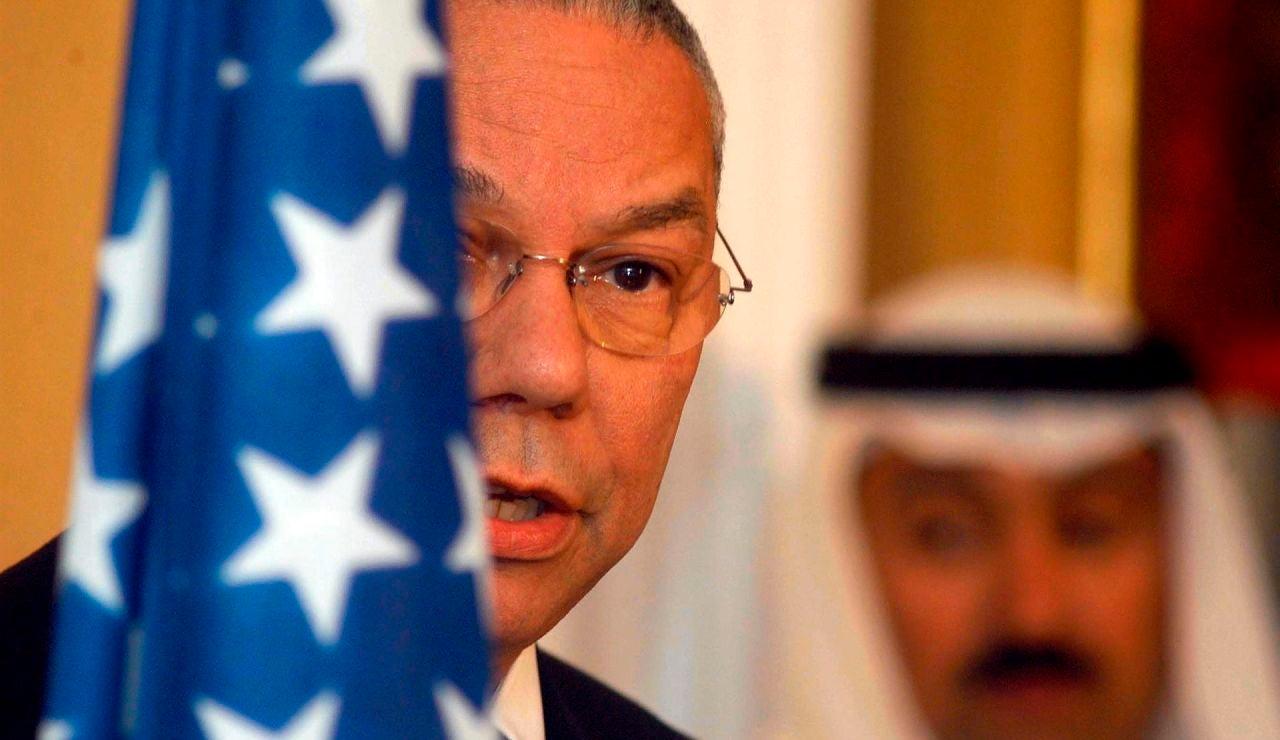 Muere Colin Powell,  primer secretario de estado negro de EE. UU.