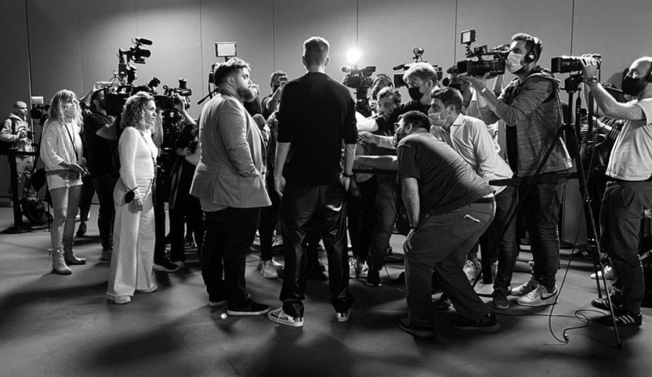 Ibai y Piqué, en la presentación del Mundial de Globos