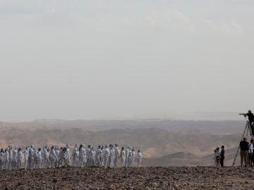 Nueva fotografía por el Mar Muerto