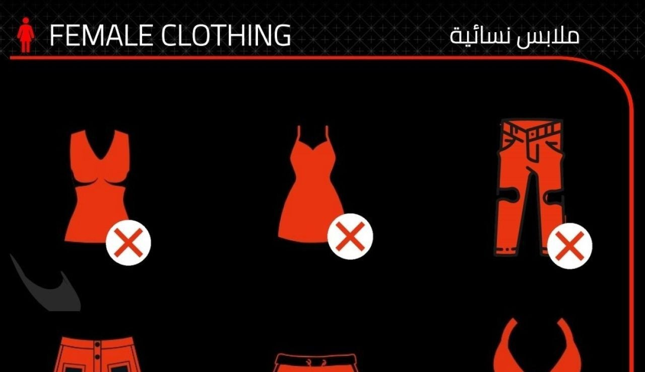 El polémico código de vestimenta para la Fórmula 1 en Arabia Saudí