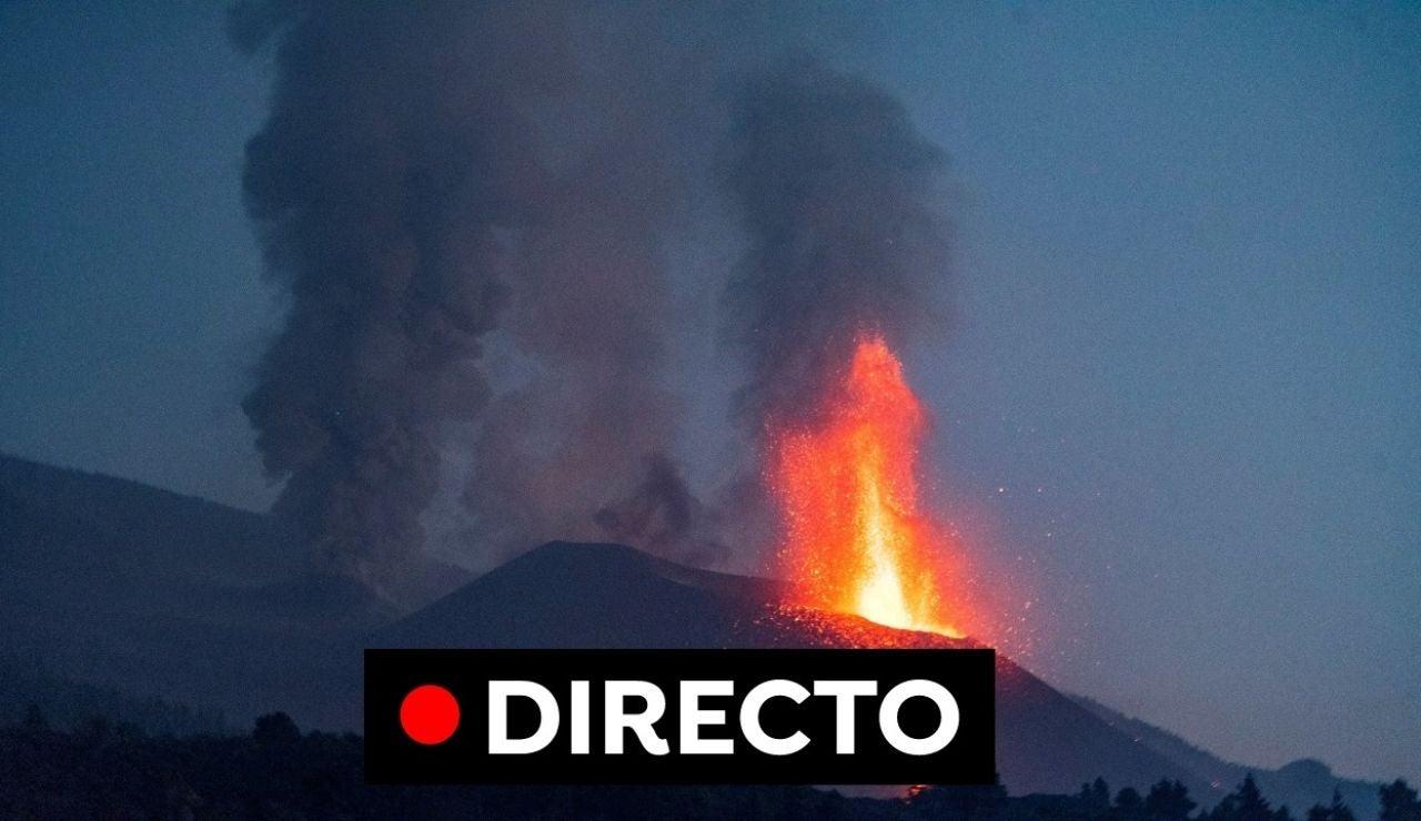 Volcán de La Palma: Última hora de evacuaciones y la evolución de la erupción del volcán de Cumbre Vieja, en directo