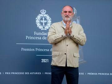 El chef José Andrés donará a La Palma el dinero del 'Premio Princesa de Asturias de la Concordia 2021'
