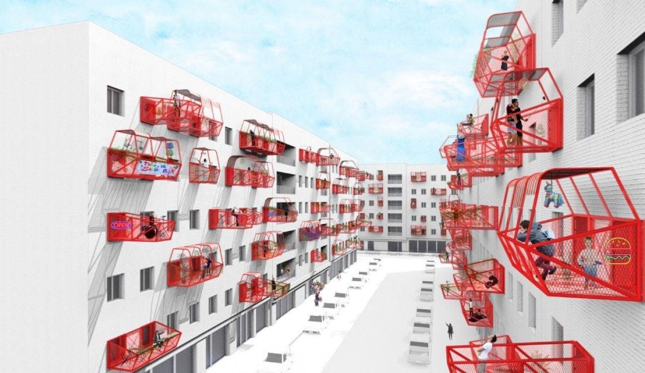 Idealista: Balcones prefabricados para las casas sin terraza