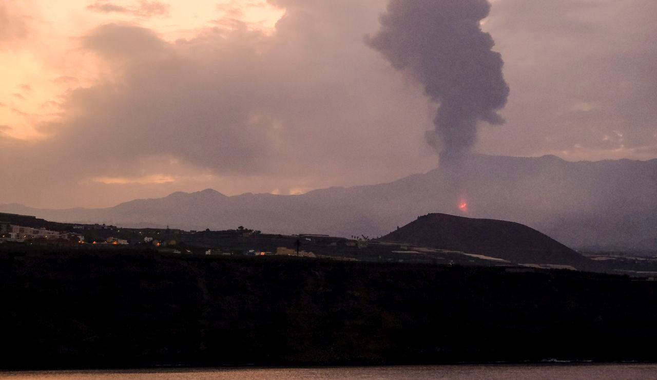 El volcán de La Palma