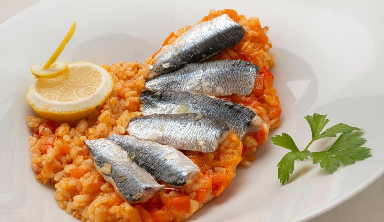 La receta de arroz con sardinas de Karlos Arguiñano