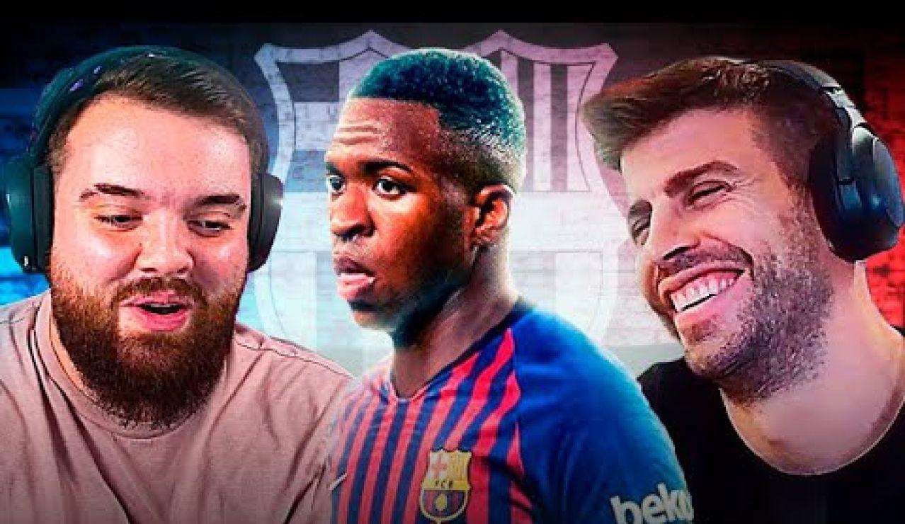 ¿Vinicius del Barça?