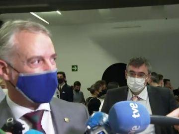 """Iñigo Urkullu reconoce que hace 10 años con el anuncio del cese de la actividad armada de ETA sintió """"tranquilidad y alivio"""""""