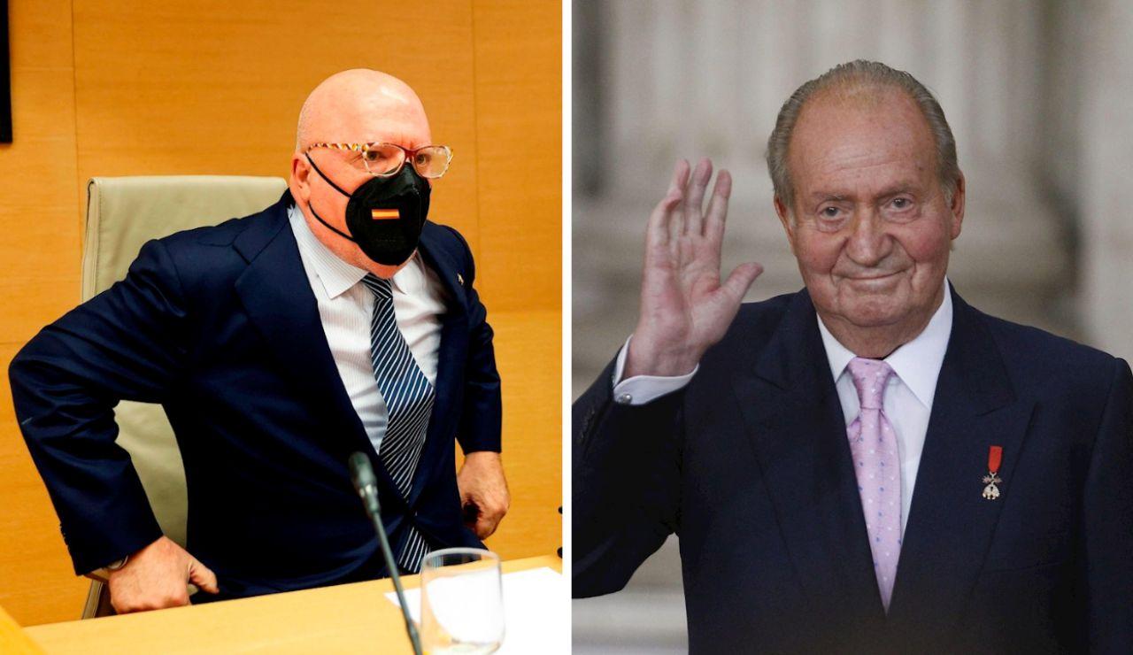 El excomisario Villarejo asegura que el CNI le dio hormonas femeninas al rey emérito para bajar su libido