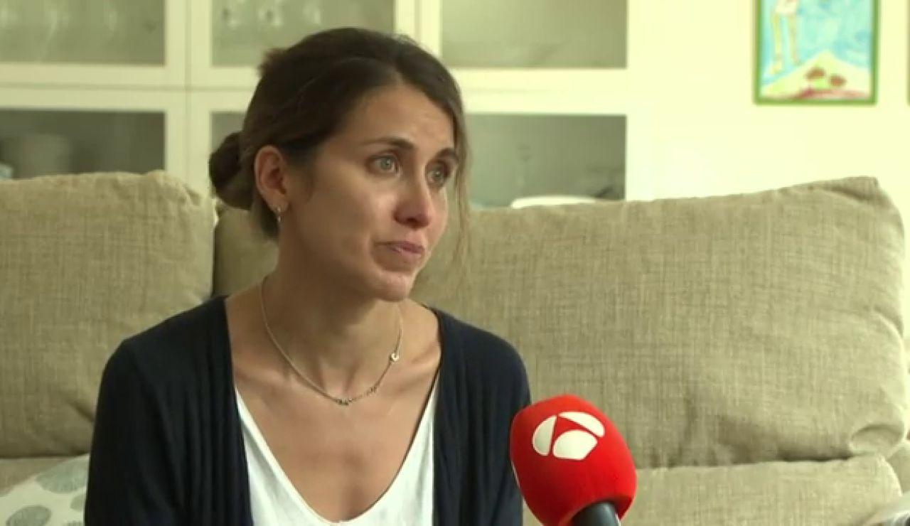 """La denuncia de Marta, una mujer que pide ayuda: """"El padre de mis hijos se llevó a mi hijo. No sé nada de él"""""""