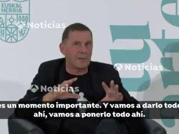 El duro discurso de Arnaldo Otegi ante Bildu sólo 7 horas después de su disculpa a las víctimas de ETA