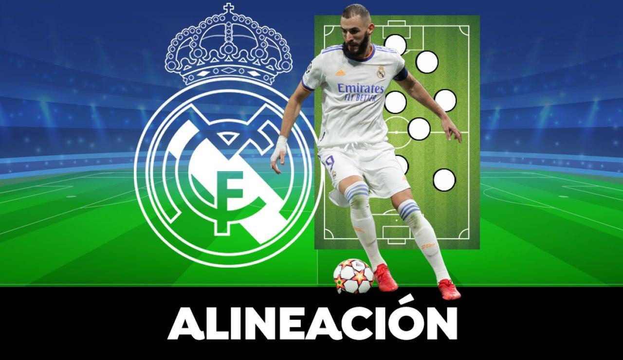 Alineación del Real Madrid en el Clásico hoy de la Liga contra el Barcelona