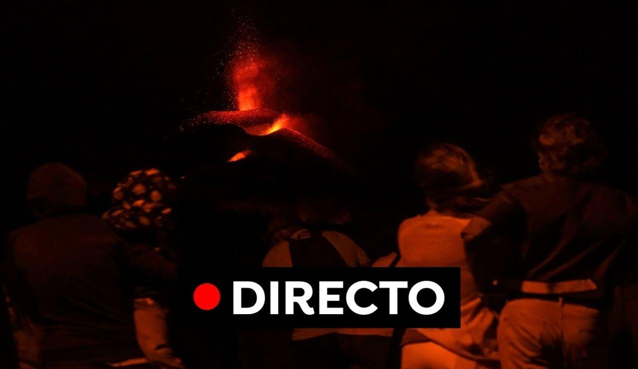 Volcán La Palma, última hora en directo: Evacúan a medio centenar de viviendas por el avance de la colada de lava