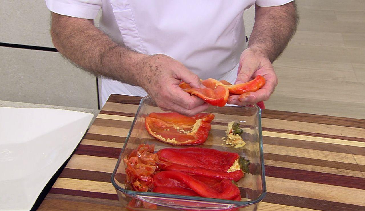El truco para pelar los pimientos: fácil y en poco tiempo