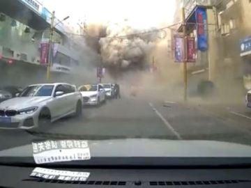 Explosión restaurante China