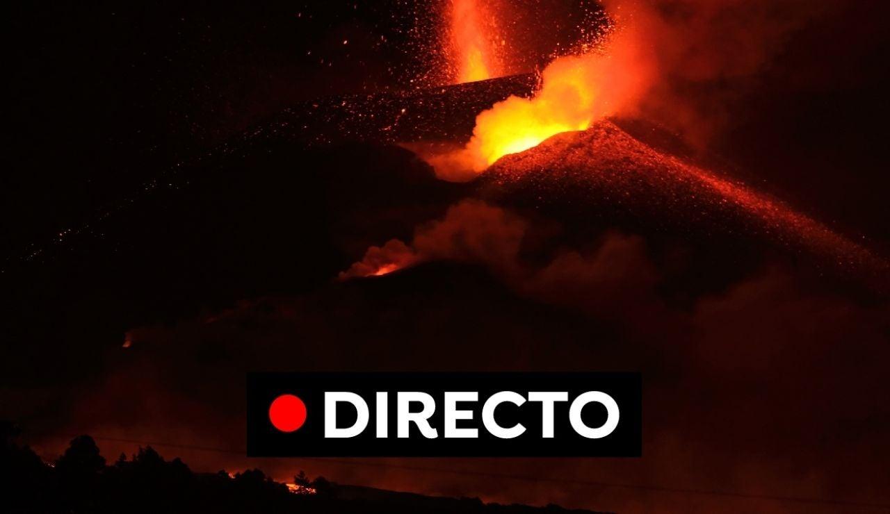 Volcán La Palma, en directo: Expectación en La Laguna y temor ante la dirección de la colada de lava