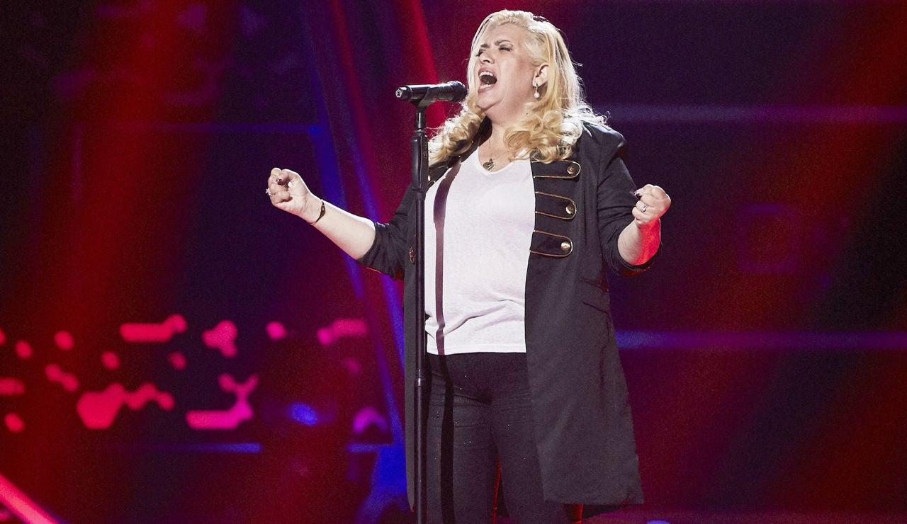 Natalia Cordero canta 'Procuro olvidarte' en las Audiciones a ciegas de 'La Voz'