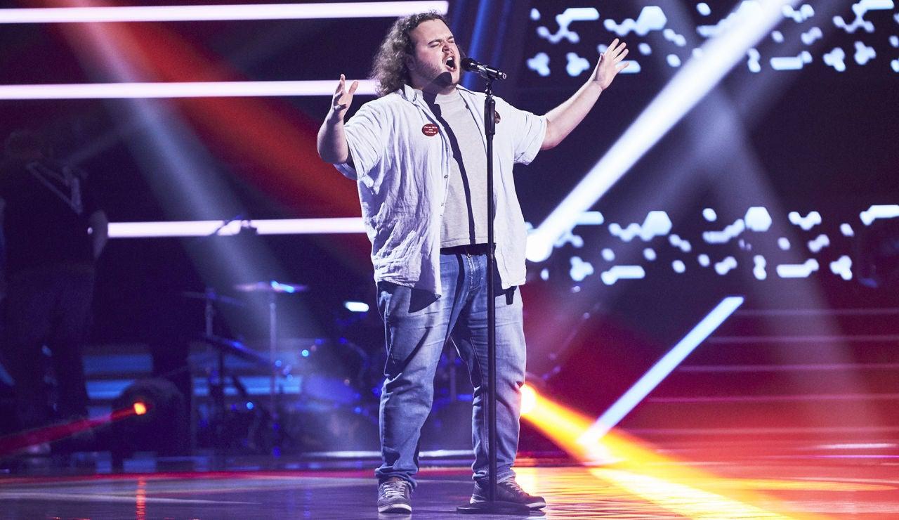 Jokin Doral canta 'I do anything for love' en las Audiciones a ciegas de 'La Voz'