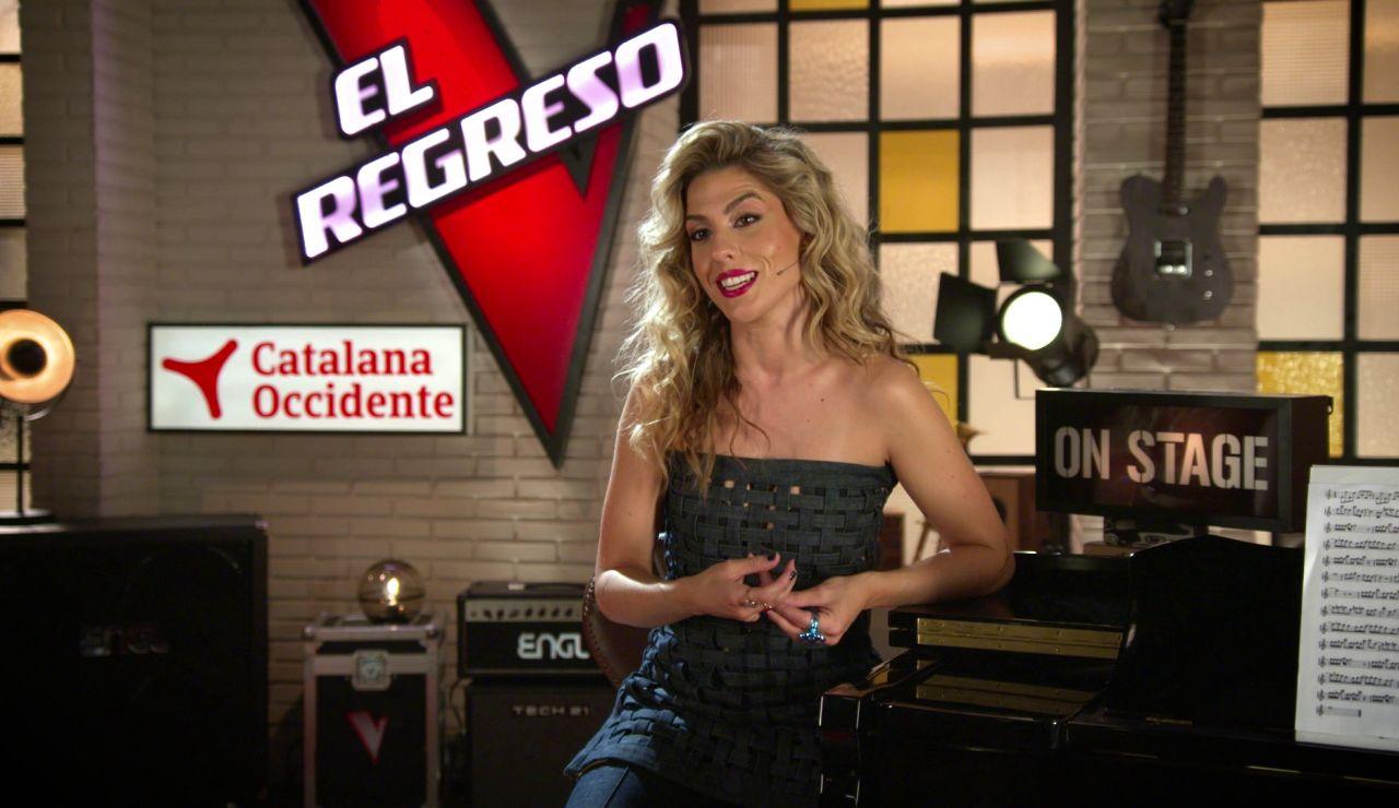 """Miriam Rodríguez: """"'El Regreso' es el aliado perfecto de 'la Voz' porque ayuda a los talents a recuperar la confianza"""""""