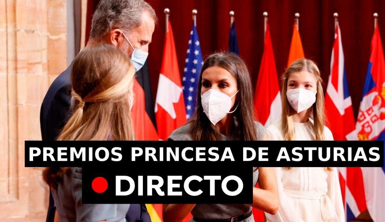 Ceremonia de entrega de los Premios Princesa de Asturias, en directo