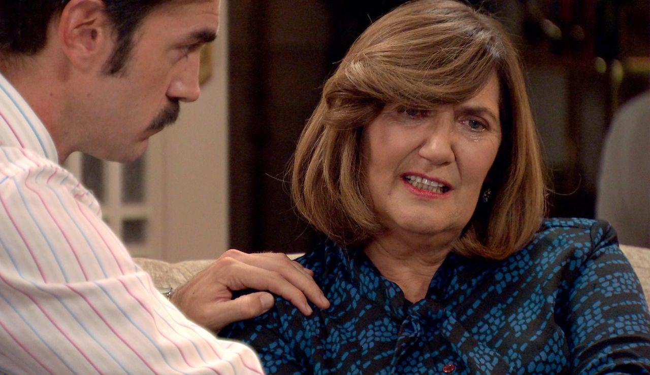 Raúl y Carmen, desolados tras la muerte de Germán