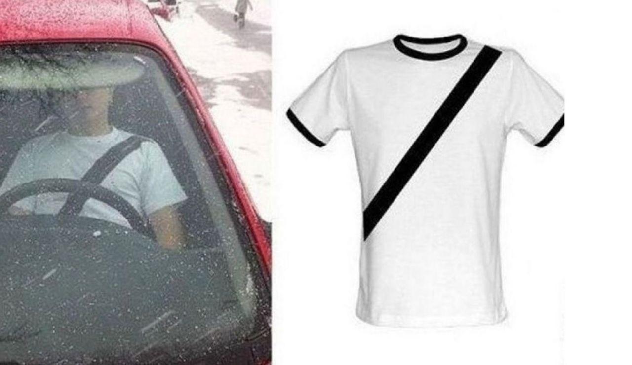 Camiseta anti-multas