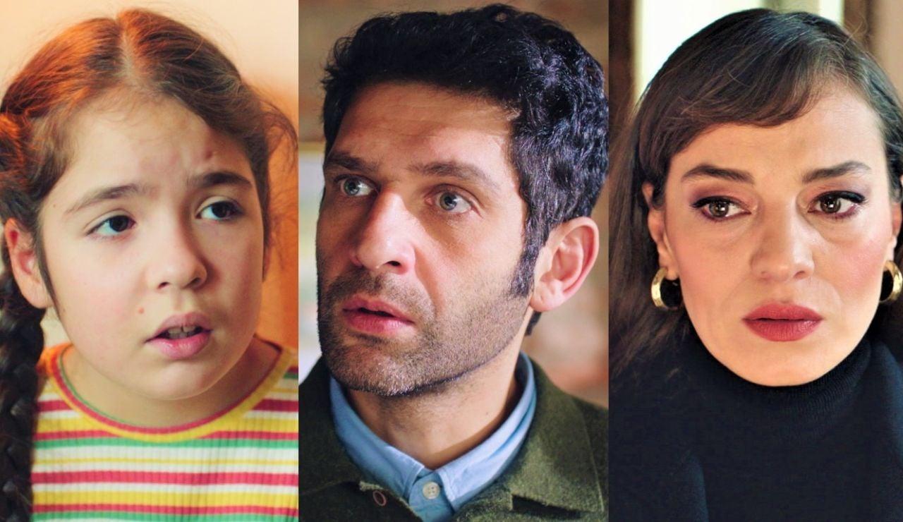 Nuevos personajes en Inocentes: Gülru y Tomris, la ex mujer y la hija de Naci, aparecen en su vida para ponerla patas arriba