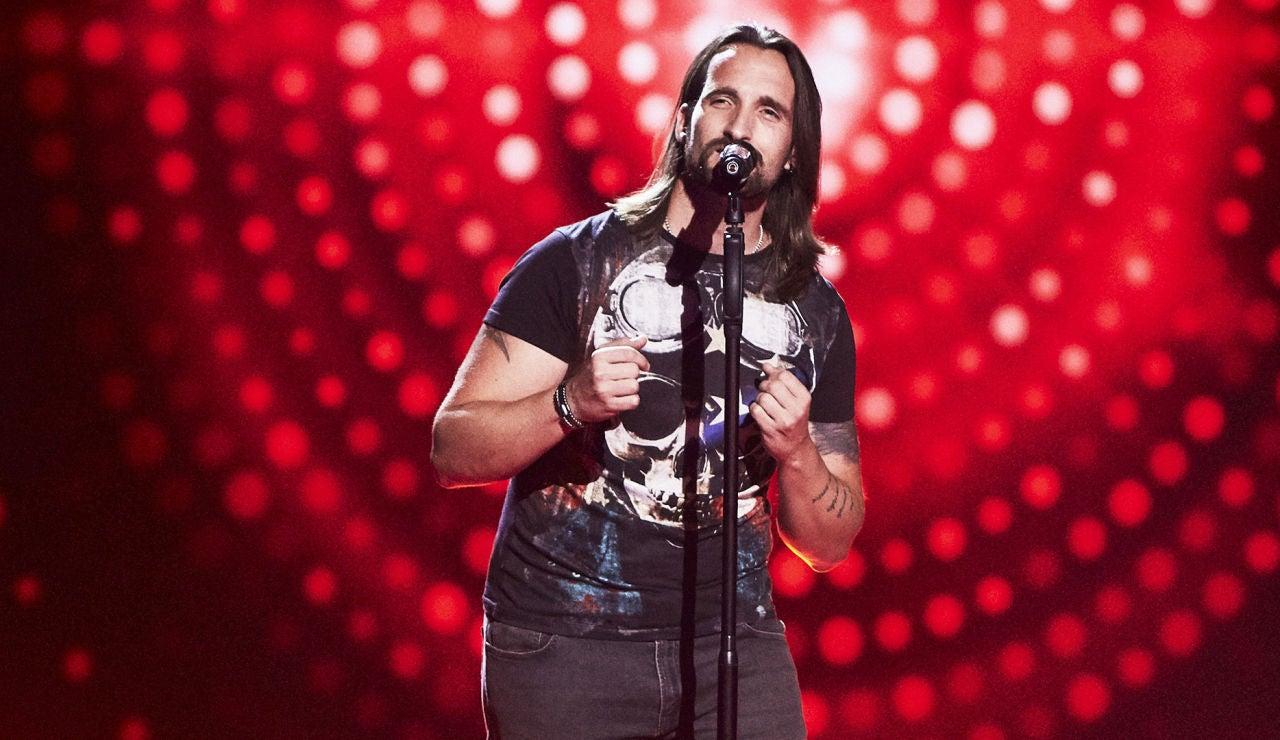 Jota Cuenca canta 'Still loving you' en las Audiciones a ciegas de 'La Voz'