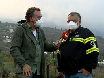 Portavoz bomberos La Palma