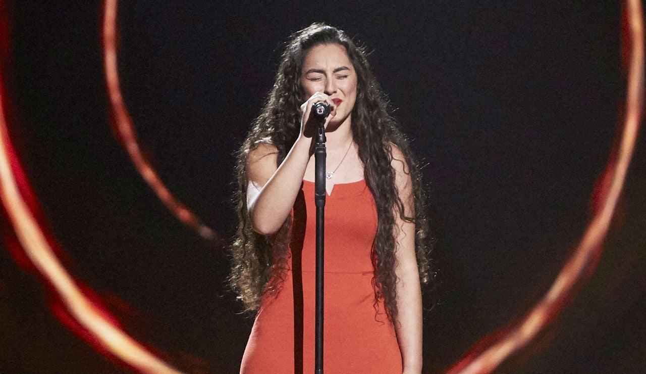 Alba Cortés canta 'Uno X Uno' en las Audiciones a ciegas de 'La Voz'