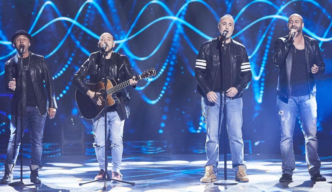 Grupo TNT canta 'I want it back way' en las Audiciones a ciegas de 'La Voz'