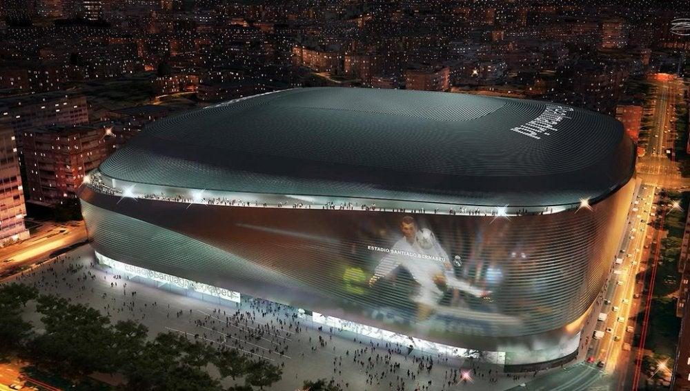 Resultado de imagen de así será el nuevo estadio Santiago Bernabéu