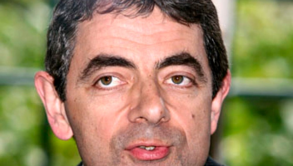 El actor Rowan Atkinson (Mr Bean)