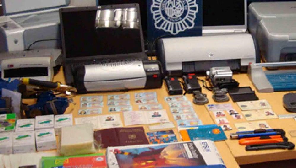 Operación contra la falsificación