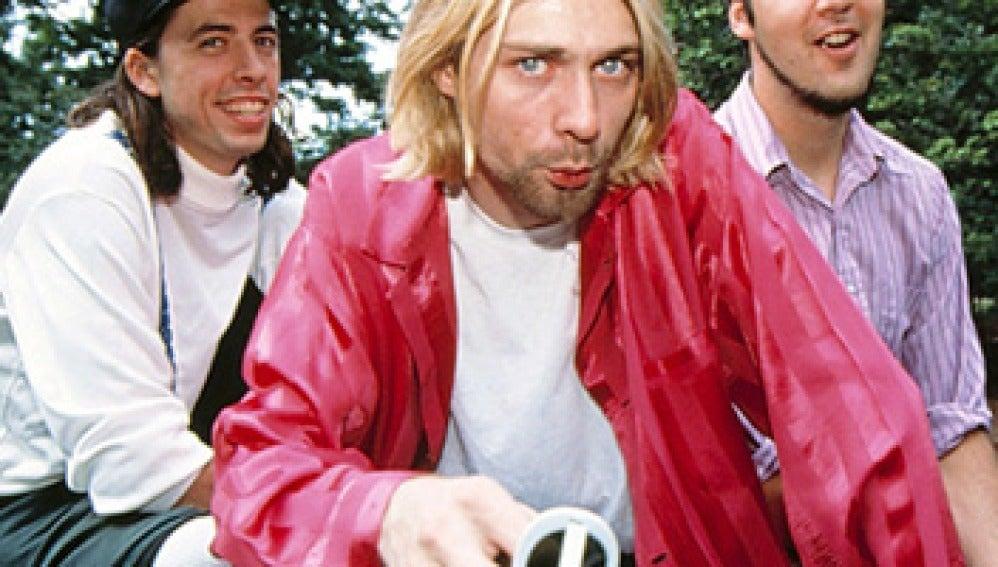 La banda de rock Nirvana