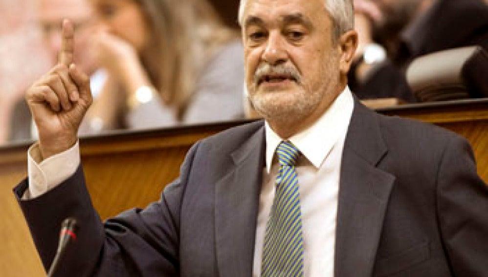 Griñán, presidente de la Junta de Andalucía