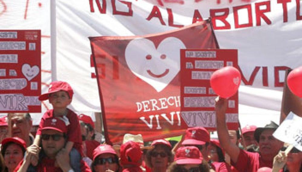 Protesta contra el aborto