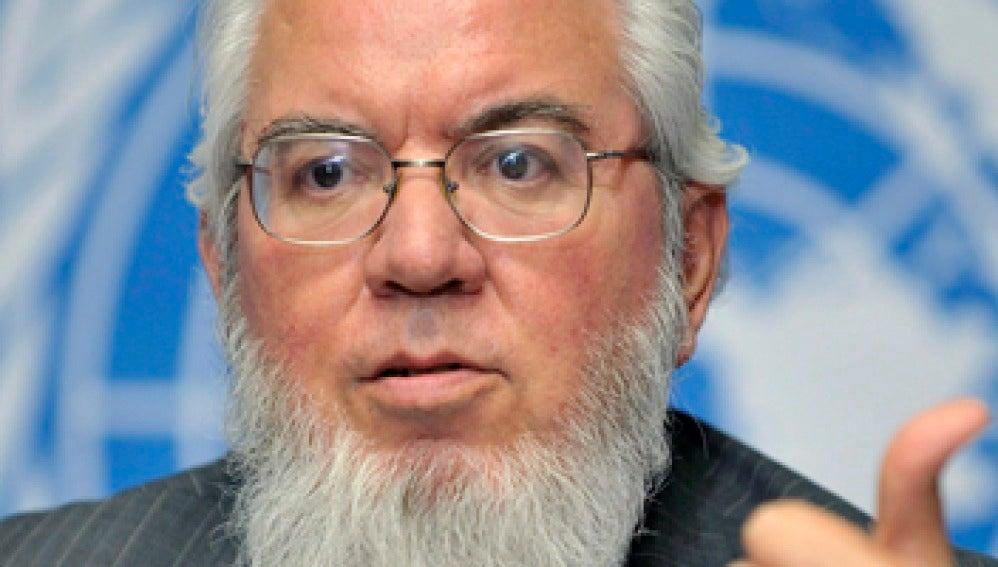 Juan Somavia, director general de la OIT