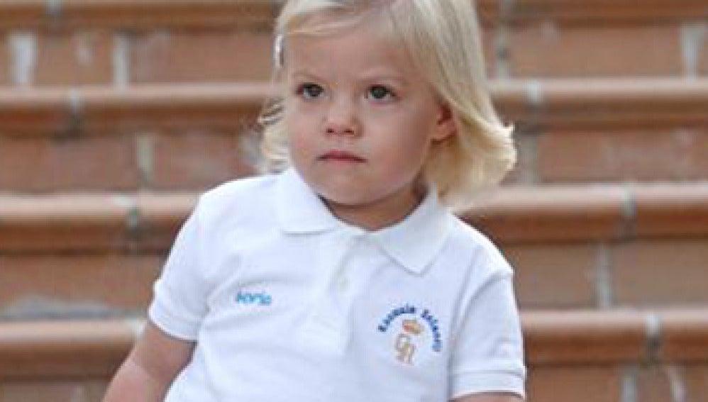 La infanta Sofía empieza la guardería