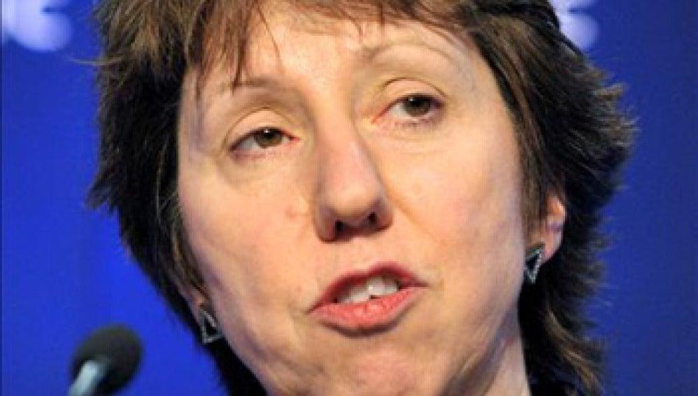 Catherine Ashton, Alta Representante de la UE para Asuntos Exteriores