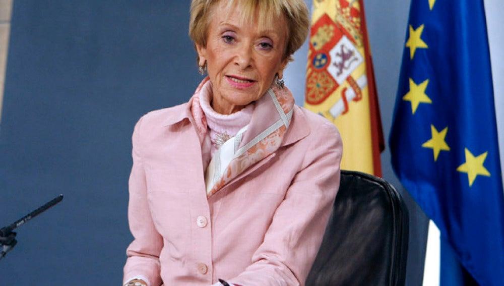 De la Vega, en el Consejo de Ministros