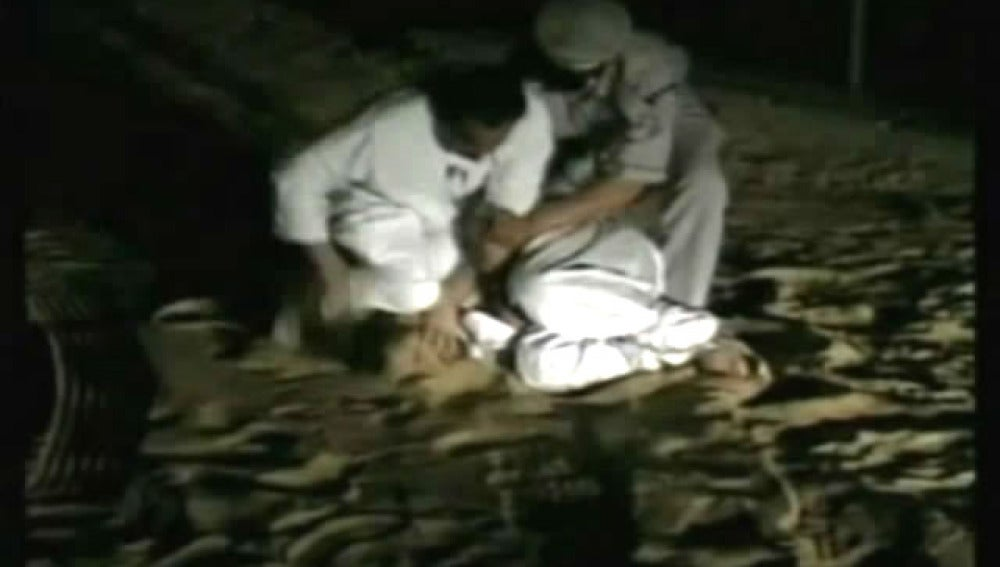 Imágenes de la tortura