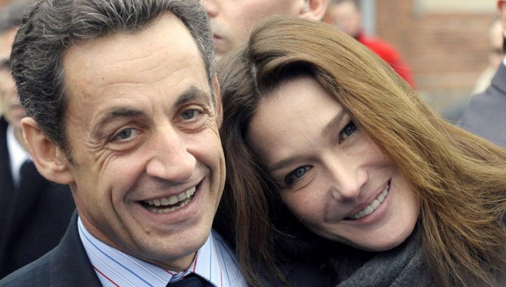 Bruni y Sarkozy, una pareja a la francesa