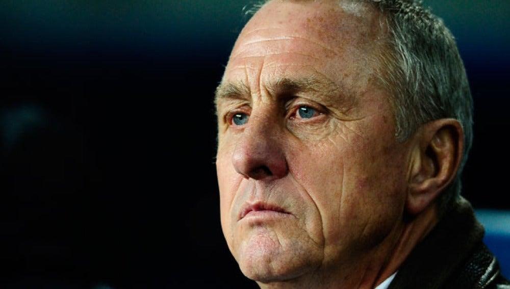 Johan Cruyff, exPresidente de Honor