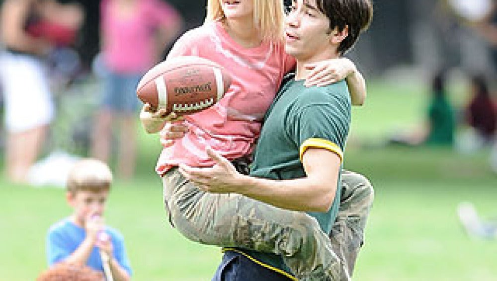 Drew Barrymore y Justin Long