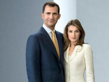 Los Príncipes, en la web de la Casa Real